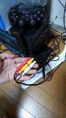 PS2とGV-USB2をつなげる1