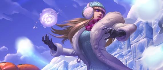 lol-シンドラ-スキン-雪の一片シンドラ