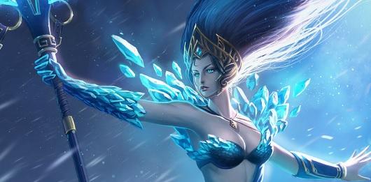 lol-ジャンナ-スキン-雪の女王ジャンナ