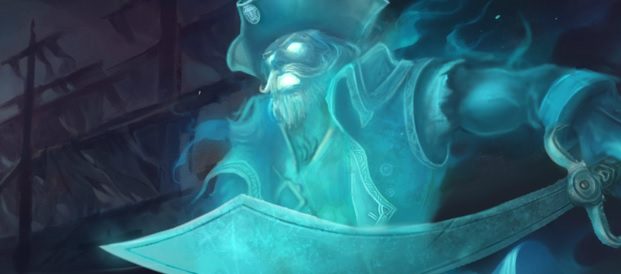 lol-ガングプランク-スキン-幽霊船長ガングプランク