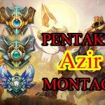 lol azir pentakill montage by pre Season 8