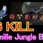 【New Meta】lol Camille Diamond Jungle Build High KDA montage Season 8 patch 8.2
