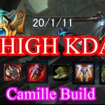 【High KDA】lol Camille Challenger Build montage Season 8 patch 8.2