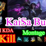 【High KDA】KaiSa ADC Challenger Build and Montage Patch 8.5